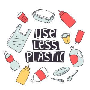 zero waste design. use less plastic