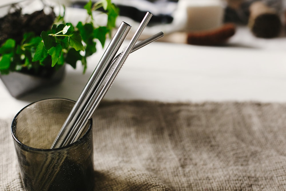 metal straws - great for reusable